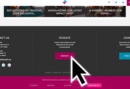 Non Profit Organization Website